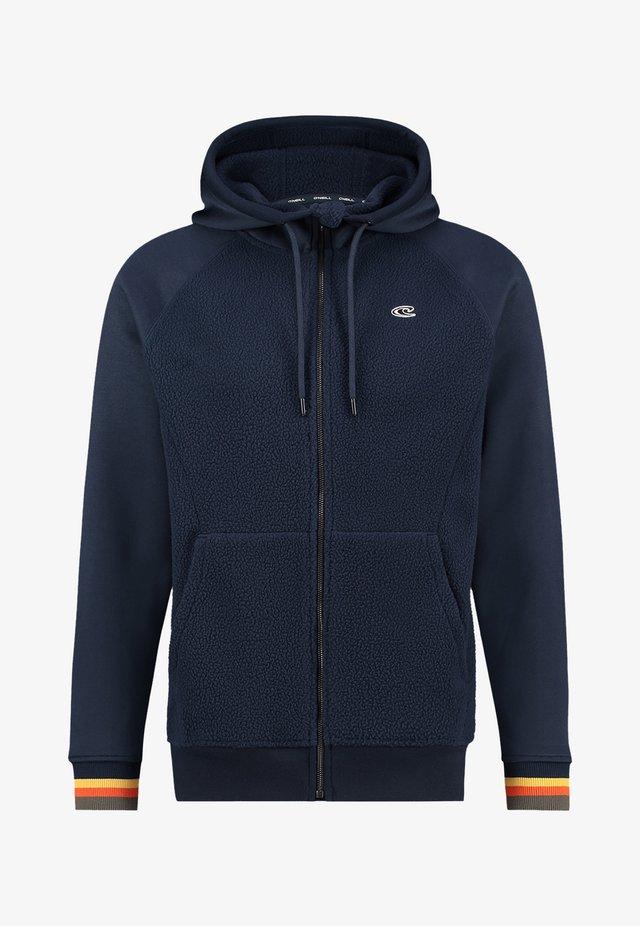veste en sweat zippée - ink blue