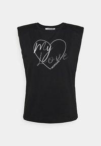 Morgan - DMYL - Print T-shirt - noir - 0
