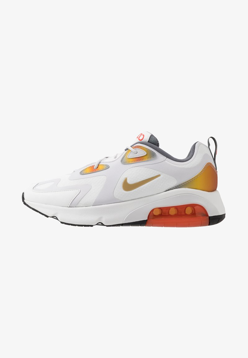 Nike Sportswear - AIR MAX 200 SE - Tenisky - summit white/vast grey/magma orange/smoke grey/team orange/black