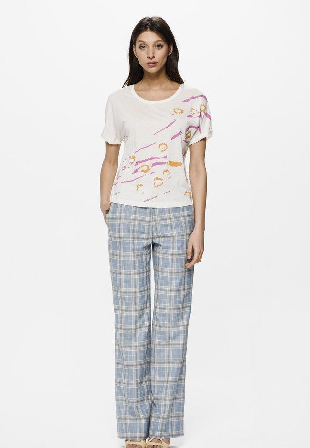 DUZ STARS - T-shirt imprimé - natural