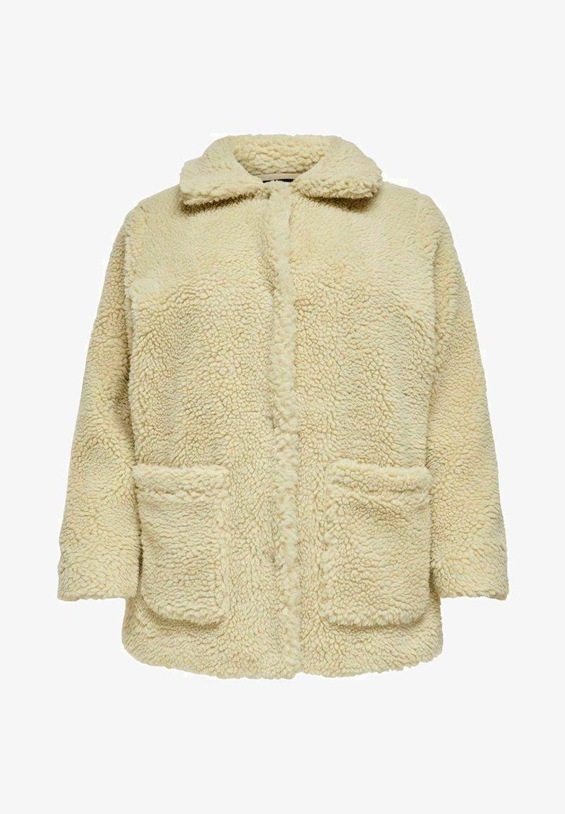 ONLY Carmakoma - Halflange jas - beige