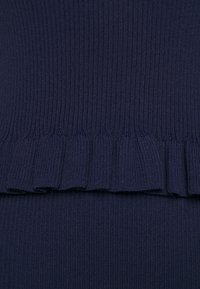 MICHAEL Michael Kors - CROP RUFFLE - Top - true navy