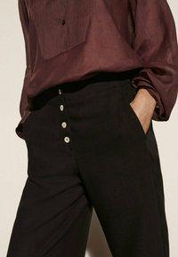 Massimo Dutti - Pantalon classique - black - 0