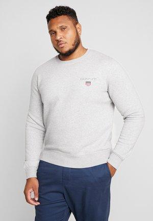 MEDIUM SHIELD CREW - Sweatshirt - light grey melange