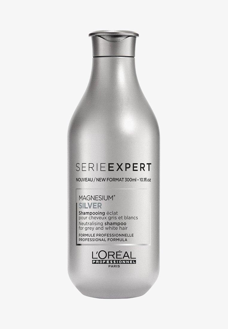 L'Oréal Professionnel - L'ORÉAL PROFESSIONNEL, MATTIERENDES SHAMPOO FÜR WEIßES, GRAUES ODER ERGRAUENDES HAAR, SERIE EXPERT SILVER - Shampoo - -