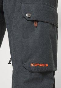 Icepeak - CHAZY - Snow pants - anthracite - 6