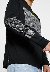 Diesel - T-JUST-LS-NEW T-SHIRT - Bluzka z długim rękawem - black - 3