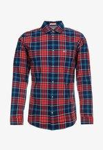 ESSENTIAL CHECK - Shirt - blue