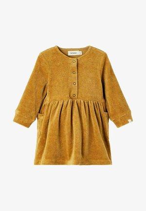 LOOSE FIT - Jurk - golden brown