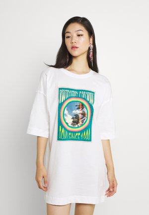 MACRAME HOUR - Vestito di maglina - snow white