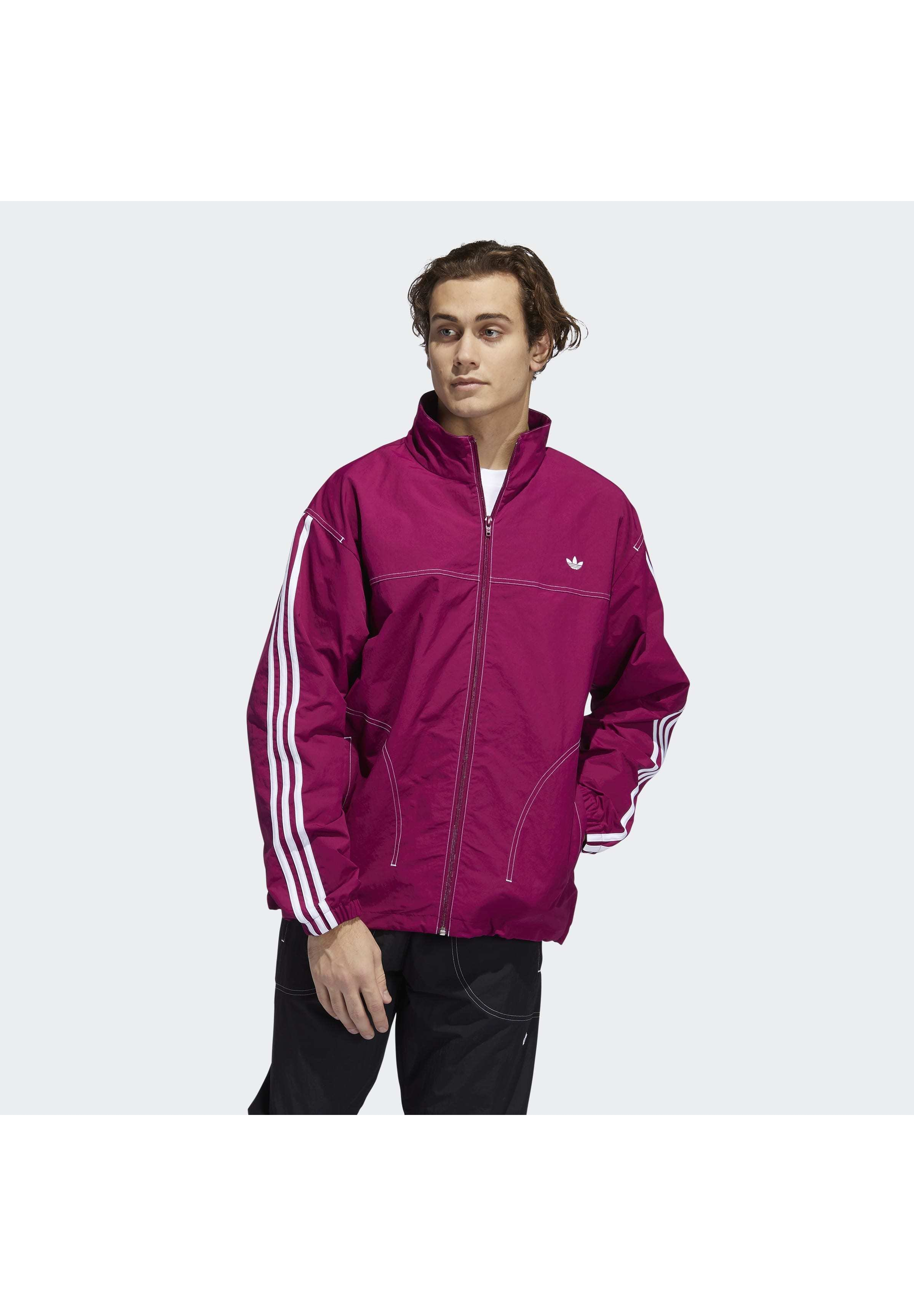 Adidas Originals Herren Magenta Trainingsjacke Top