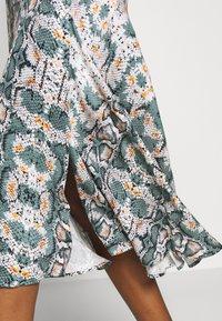 Aaiko - TANIRA - A-line skirt - light steel green - 5