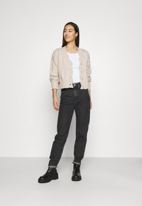Weekday - LASH STANDARD - Jeans a sigaretta - asphalt black - 1