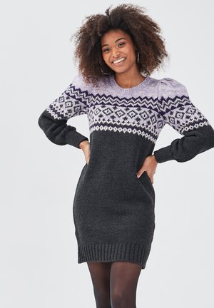 Jumper dress - gris foncé