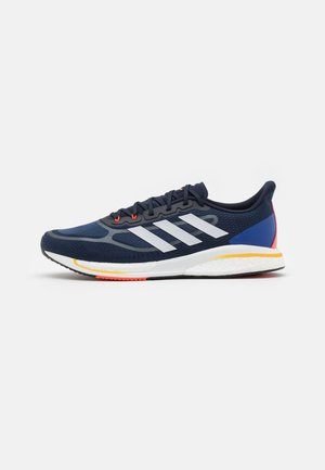 SUPERNOVA BOOST BOUNCE - Neutral running shoes - legend ink/footwear white/solar gold