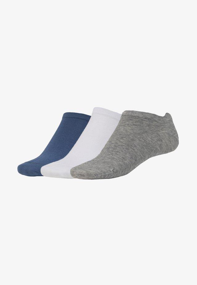 SNEAKER 3 PACK  - Sokken - blau