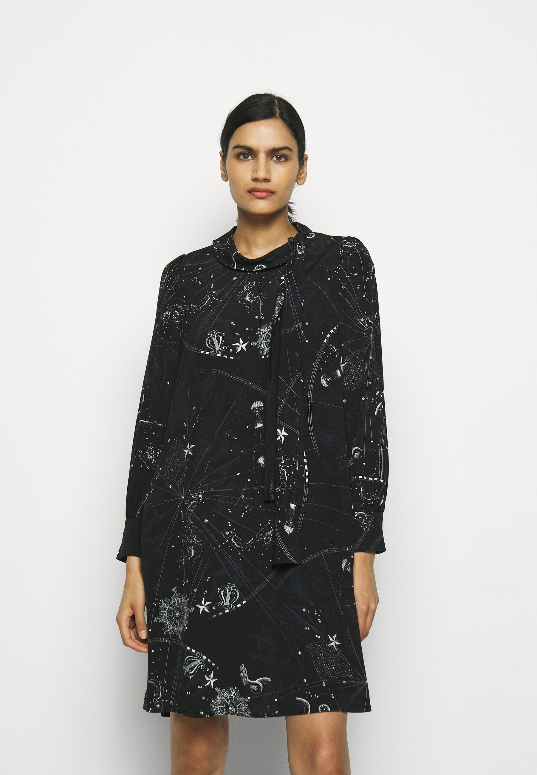 Women Day dress - black