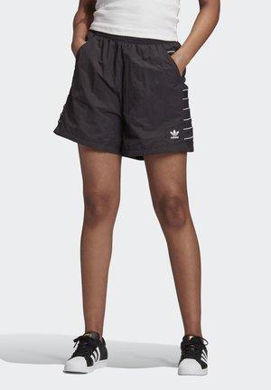 ADICOLOR LARGE LOGO SHORTS - Shorts - black