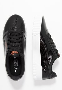 Puma - CARINA  - Baskets basses - black - 3