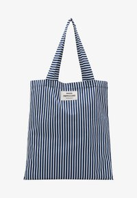 SOFT ATOMA - Tote bag - navy/white