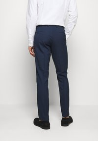 Isaac Dewhirst - CHECK SUIT DOUBLE BREASTED - Completo - dark blue - 6