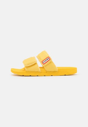 ORIGINAL TWO STRAP SLIDE - Matalakantaiset pistokkaat - sunflower