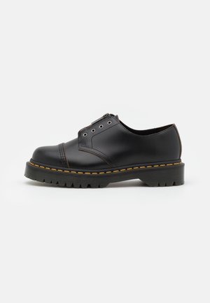 SMITHS LL BEX-3 EYE SHOE UNISEX - Casual lace-ups - black viintage