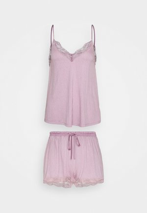 STRAPS SHORT PANT SOFT TOUCH - Pyjama - pinks
