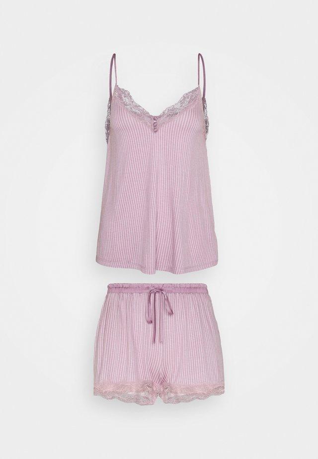 STRAPS SHORT PANT SOFT TOUCH - Pyjamas - pinks