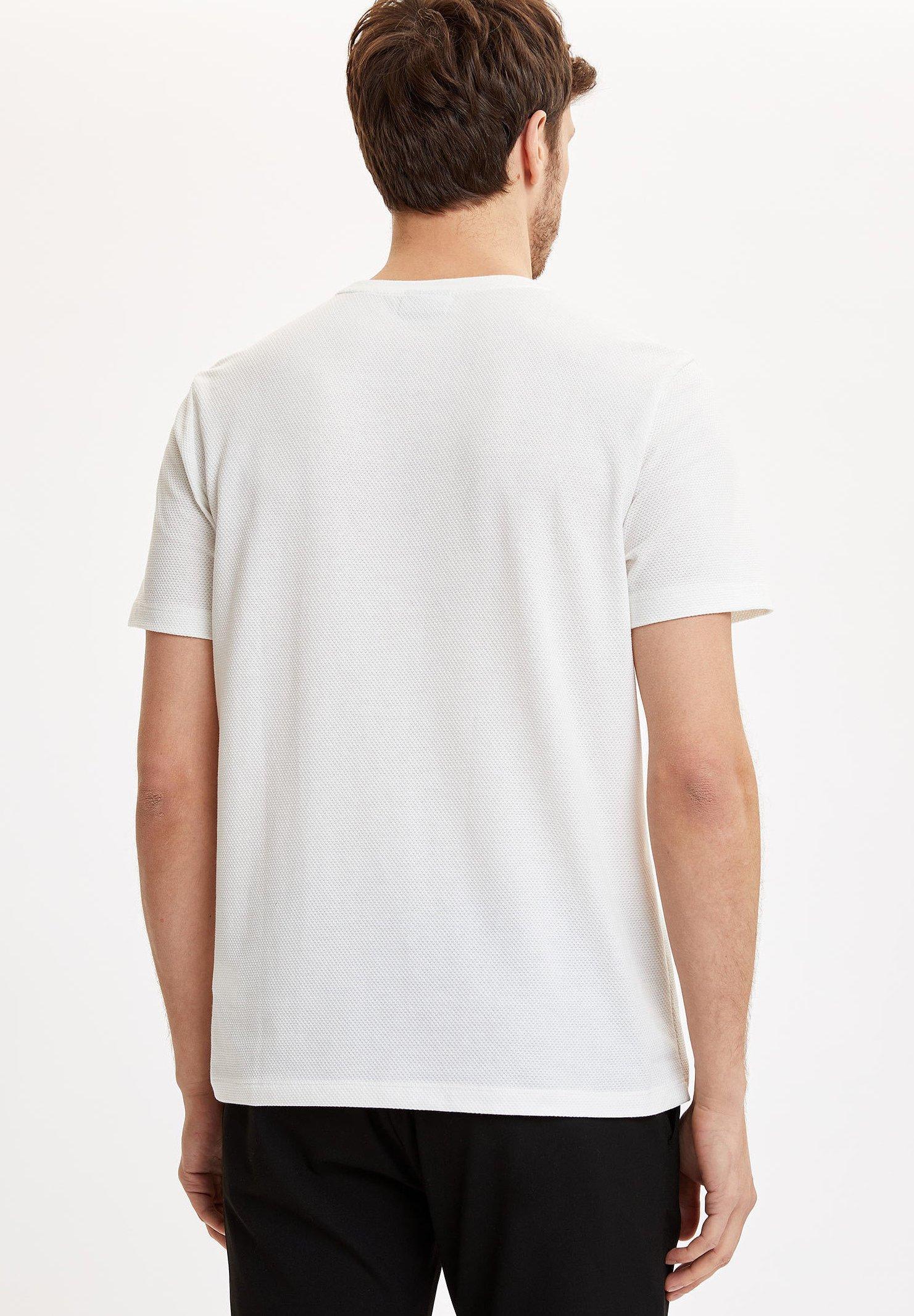 DeFacto Print T-shirt - white x1GvC