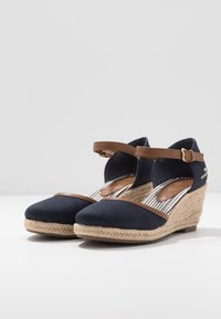TOM TAILOR - Wedges - navy - 4
