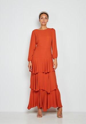 Maxi dress - copper