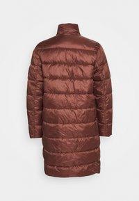 CLOSED - COSY PORI - Winter coat - mahogany - 1
