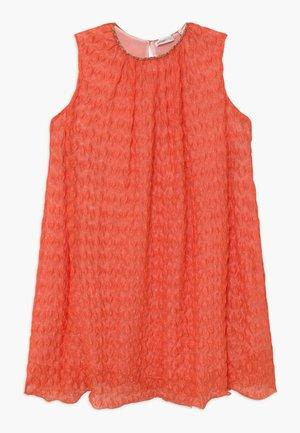 Vestido de punto - orange