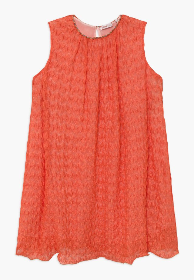 Abito in maglia - orange