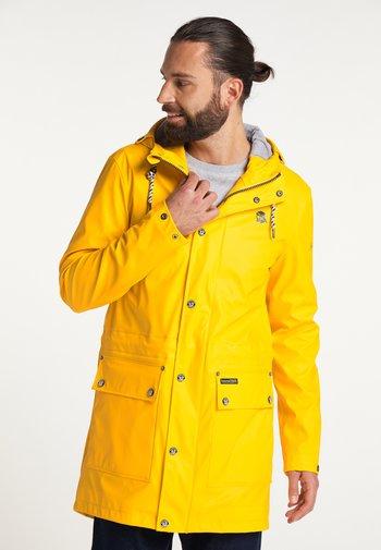 Waterproof jacket - mustard yellow