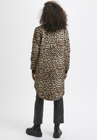 Kaffe - Winter coat - light brown leo print - 2
