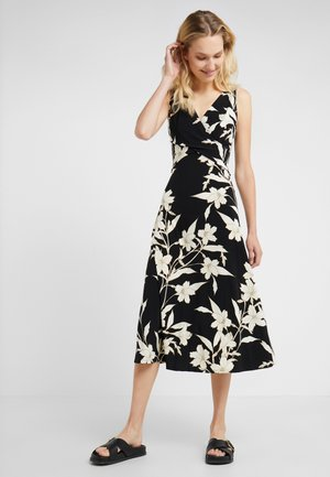 YANILSA - Maxi šaty - black/colonial