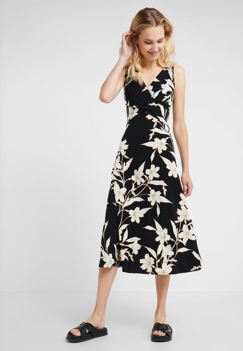 Lauren Ralph Lauren - YANILSA - Maxi dress - black/colonial