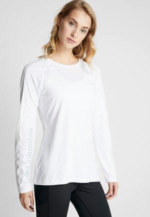 WINDGATES™ TEE - Sports shirt - white