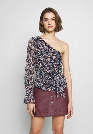SADELLE ASYMMETRICAL TOP - Blouse - dark blue