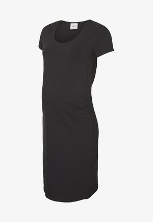 MLLEA DRESS - Jerseykjole - black