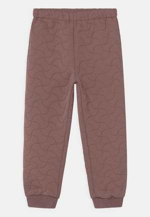 THERMO PANTS ALEX UNISEX - Ulkohousut - dusty lilac