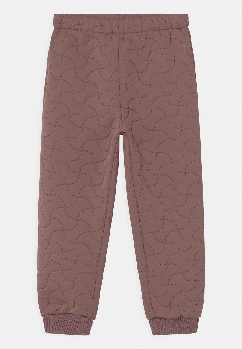 Wheat - THERMO PANTS ALEX UNISEX - Outdoorové kalhoty - dusty lilac