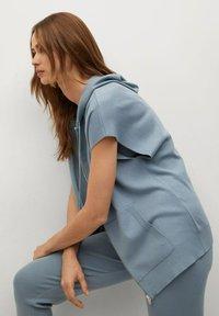 Mango - OLIVER - Waistcoat - blau - 3