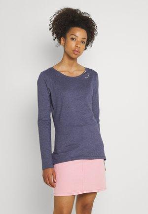 FLORAH LONG - Long sleeved top - night blue
