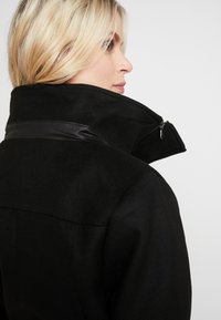 LOVE2WAIT - COAT DOUBLE ZIPPER - Classic coat - black - 4