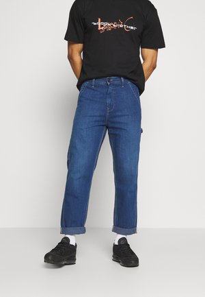 CARPENTER - Jeans baggy - blue denim