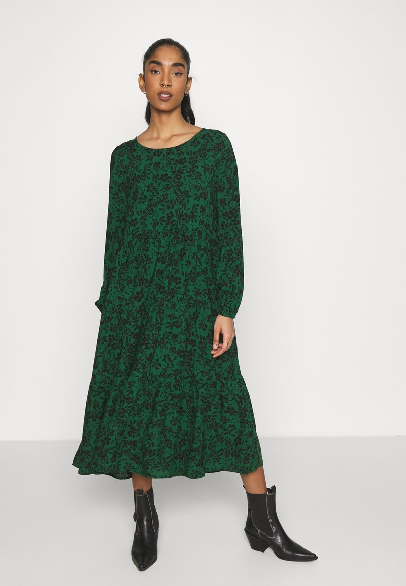Even&Odd - Day dress - green/black