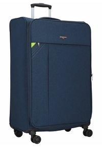 Hardware - REVOLUTION - Wheeled suitcase - dark blue - 4